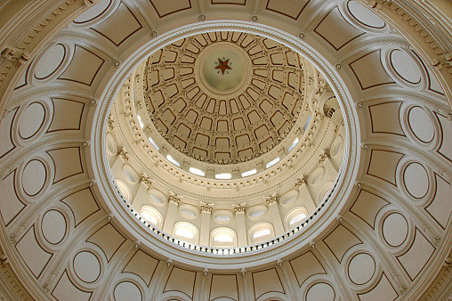 Texas state capital building dome in Austin - Arno Jansen, Getty Images