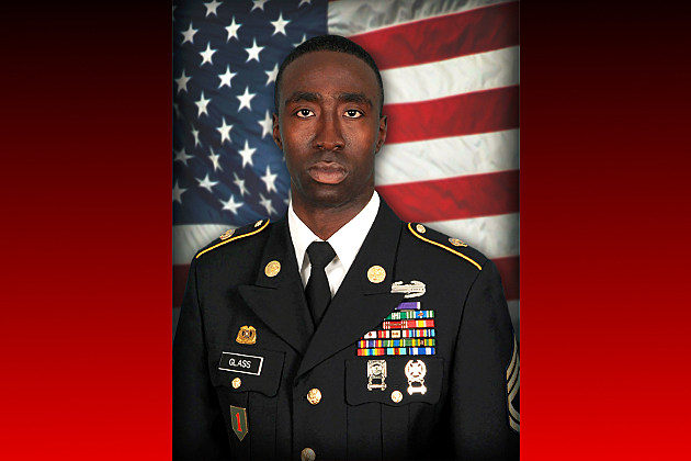 Sgt. 1st Class Antino Michael Glass - Courtesy Fort Hood Press Center