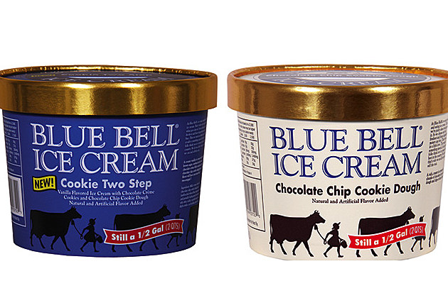 Blue bell cookie dough provider issues listeria recall for Christmas cookie ice cream blue bell