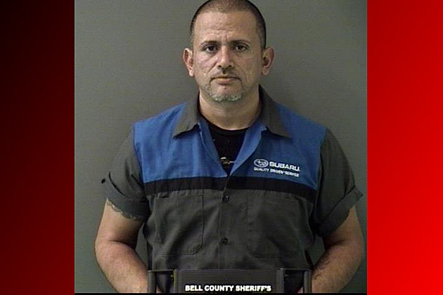 Fernando Souchet - Bell County Jail Photo