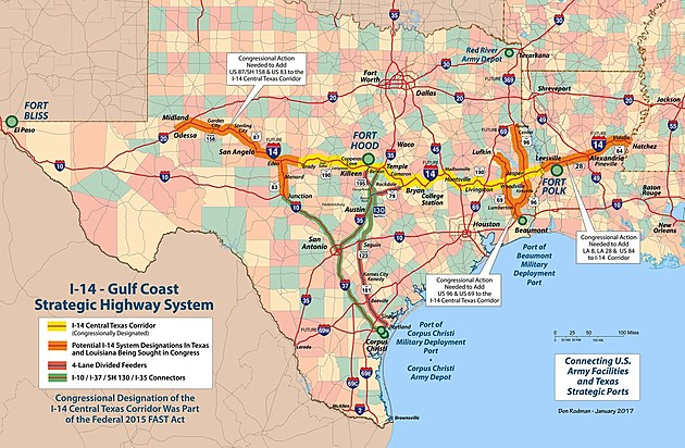 Gulf Coast Strategic Highway Coalition Graphic