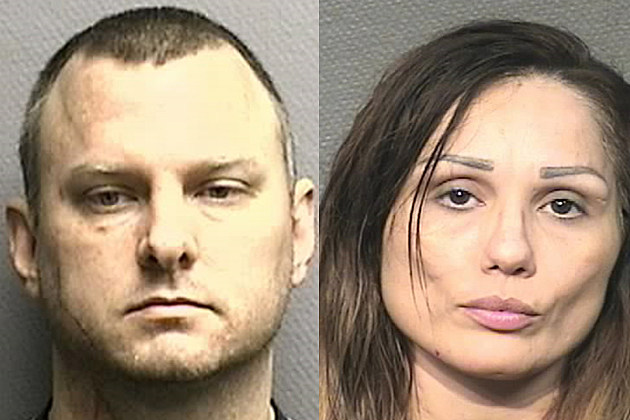 Judd Thomas Denley and Isabel Robinson - Harris County Sheriff's Dept Photo